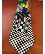 NEW Novelty Car race flag necktie - $12.50