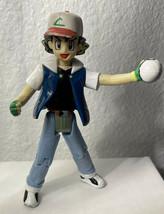 "Pokemon 2000, Hasbro Ash Ketchum 4.5"" Figure (*bad Condition) - $4.99"