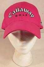 Callaway Red Golf Sports Hat Cap Strapback - $14.80