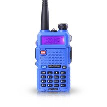 Baofeng uv-5r cb blue radio transciver 128ch 5w handheld hunting walkie ... - £120.39 GBP