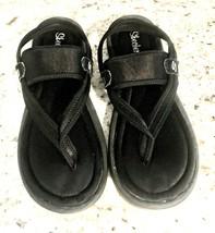 1b284fc94fb SKECHERS Women  39 s Sling Back Memory Foam Flip Flops Sandals Black - Size  · Add to cart · View similar items