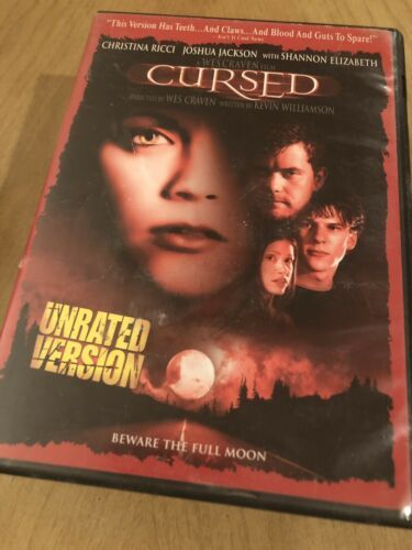 Cursed - Christina Ricci -(DVD) Special Buy 3 Get 4th Movie Free !!