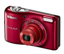Nikon COOLPIX L32 Digital Camera with 5x Wide-Angle NIKKOR Zoom Lens - $119.68
