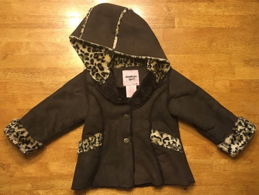 ba4ffcde022 Osh Kosh B Gosh Girl s Brown Faux Fur and 50 similar items