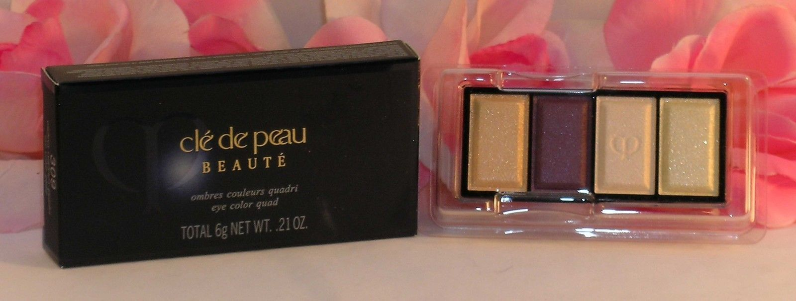 Primary image for New Shiseido Cle De Peau Beaute Eye Shadow Quad Refill #309 Colors & Highlights