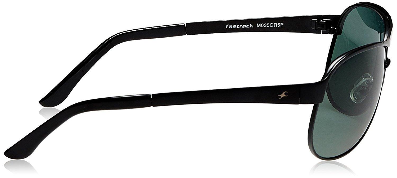 Fastrack Aviator Unisex Sunglasses (M035GR5P|Green)