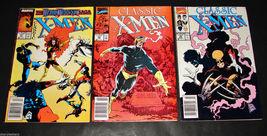 3 1989-90 Marvel Comics CLASSIC X-MEN 41, 44, 45 FINE Comic Books - $11.69