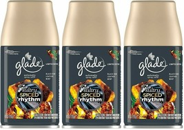 (3 Pack) Glade Automatic Spray Refills Sultry Spiced Rhythm Leather Mint 6.2 oz - $26.02
