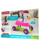 Fisher-Price Rollin' Tunes Unicorn with Music, Phrases, & Sounds. - $36.99
