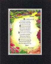 Touching and Heartfelt Poem for Friends - [Friends! ] on 11 x 14 CUSTOM-CUT EXTR - $16.33