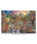 THE BEATLES - MAGICAL MYSTERY TOUR - 100 SONGS POSTER - 22x32 MASSE ART - $21.00