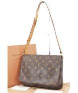 Authentic LOUIS VUITTON Musette Tango Monogram Shoulder Bag Purse #32829 - $475.00