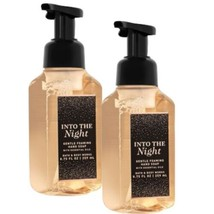 2-Pack Bath & Body Works INTO THE NIGHT Gentle Foaming Hand Soap 8.75 fl... - $18.95