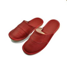 Unisex Home Slippers Genuine Leather Summer Spring Autumn Shoes Rubber F... - $25.99