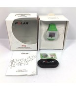 Polar FT4 GREEN Digital Watch + Heart Rate Monitor + New Batteries - NO ... - $23.70