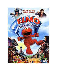 The Adventures of Elmo in Grouchland [DVD Used VG] Children's Movie