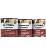 3 Cans Rust-Oleum 8 Oz Ultimate Wood Stain One Coat 271565 Cabernet Dry ... - $23.99
