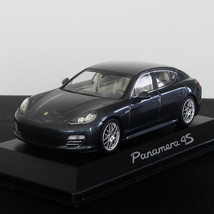 Original blue Metallic Porsche Panamera 4S Model 2010 Scale 1:43 MINICHAMPS - $59.00