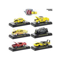 Auto Thentics Mooneyes 6 Piece Set IN DISPLAY CASES 1/64 Diecast Model C... - $54.06