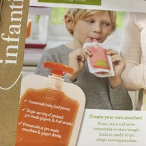 Infantino Fresh Squeezed Single Use Pouches, 41 Squeeze Pouches - $9.04