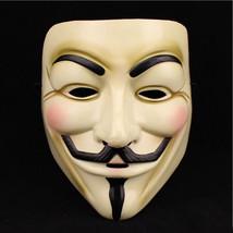 10pcs V For Vendetta Mask Guy Fawkes Anonymous Masquerade Masks Fancy Ha... - £30.85 GBP