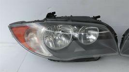 08-11 BMW E82 E88 128i 135i Halogen Headlight Lamps Set L&R image 3