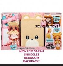 Na Na Na Surprise Sarah Snuggles 3 In 1 Backpack Bedroom CLOSET- New 2021 - $49.99