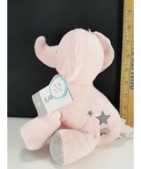 Carter's Child Of Mine Plush Wind Up Musical Grey Pink Elephant Baby Bra... - $19.79