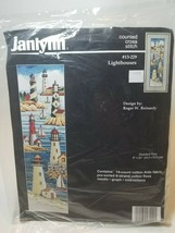 Janlynn Counted Cross Stitch Lighthouses #13-229 Kit - New 1996 6x21 inch - $17.77