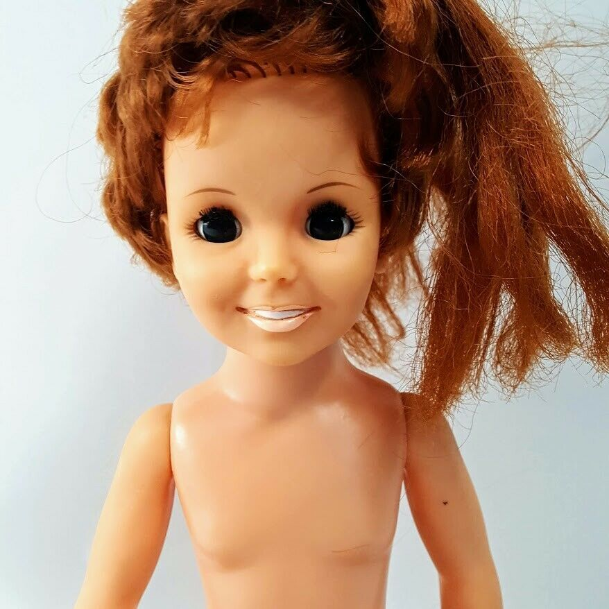 "Primary image for Vintage Ideal 1969 Crissy Grow Hair 18"" Teen Doll Growing Hair Nude"