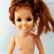 "Vintage Ideal 1969 Crissy Grow Hair 18"" Teen Doll Growing Hair Nude - $16.66"