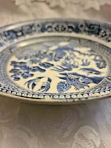 "Societe Ceramique Holland Pottery Blue Willow Pattern Bowl 9 1/2"" image 2"