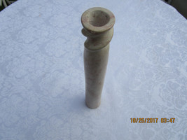 """Vintage Soap Stone Candle Holder 12"""" Tall - $8.50"""