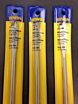 "Irwin IW704 7/16"" x 10"" Flat Bit For Wood Boring 3PKS - $3.71"