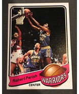 1979- 80  Topps  Robert Parish #93 Basketball Card  Warriors - Celtics - $1.93