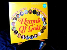 Hymns Of Gold Record AA20-7424 Vintage