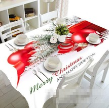 3D Red Ball 024 Tablecloth Table Cover Cloth Birthday Party Event AJ Lemon - $58.22+