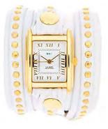 La Mer White Gold Bali Stud Wrap with Gold Square Case - $102.47