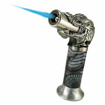 Dragon Head Jumbo Torch REFILLABLE Butane Lighter - One Lighter w/ random color image 2