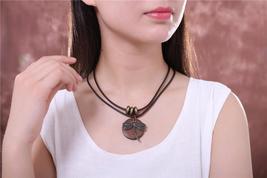 COOSTUFF Vintage Dragonfly Wooden Handmade Necklace / Pendant - Ladies / Women's image 2