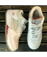Nike Air Jordan Youth Air Force 5 Low G White Shoe Basketball Sneaker Si... - $64.34