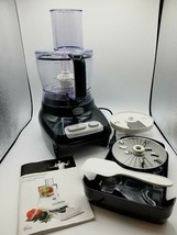 Wolfgang Puck Bistro Collection 7 Cup Food Processor Black Model BFPR0007 - $39.59