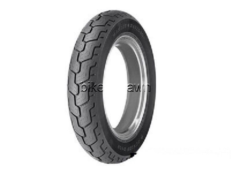 New Dunlop D402 Rear Blackwall MU85B16 Harley Tire Tubeless