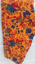 Lularoe NWT Leggings Oranges, greens, Reds, yellows ect Roses Floral TC Size  - $25.00
