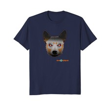 Angry Face - Australian Cattle Dog T-shirt - $17.99+