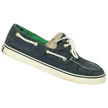 Sperry Top Sider Womens Biscayne Navy Blue Saltwash Boat Deck Shoes Size... - $30.38