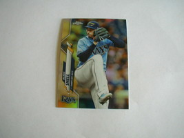2020 TOPPS CHROME BLAKE SNELL REFRACTOR CARD #68 TAMPA BAY RAYS - $2.96