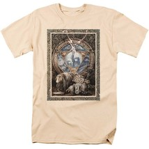 Dark Crystal T-shirt 80s movie poster retro style 100% tan cotton tee DKC131 image 2