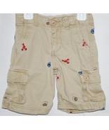Boys Summer Cotton Cargo Shorts Shell Fish by B... - $4.25