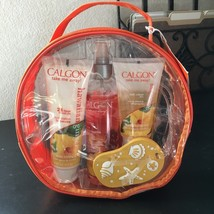 CALGON*6pc Travel Set HAWAIIAN GINGER Mist+Lotion+Body Wash+Tag+Journal ... - $39.99